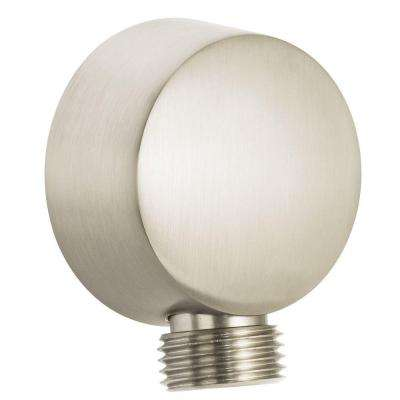 Neo Shower Elbow in Brushed Nickel