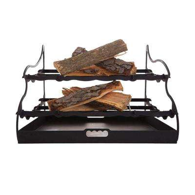32 in. Dual-Tier Fireplace Grate