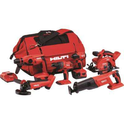 22-Volt Lithium-Ion Cordless Combo Kit (6-Tool)