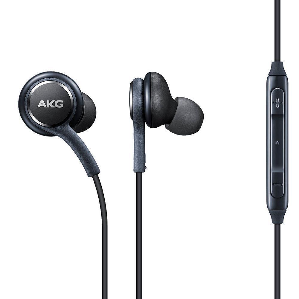 AKG Samsung Earphones Headphones In-Ear Headset for Galaxy S8 Plus (Bulk Package)