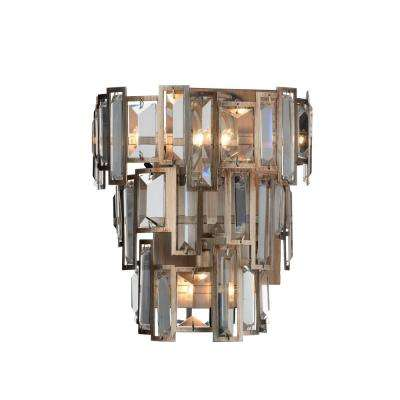 Quida 3-Light Champagne Sconce