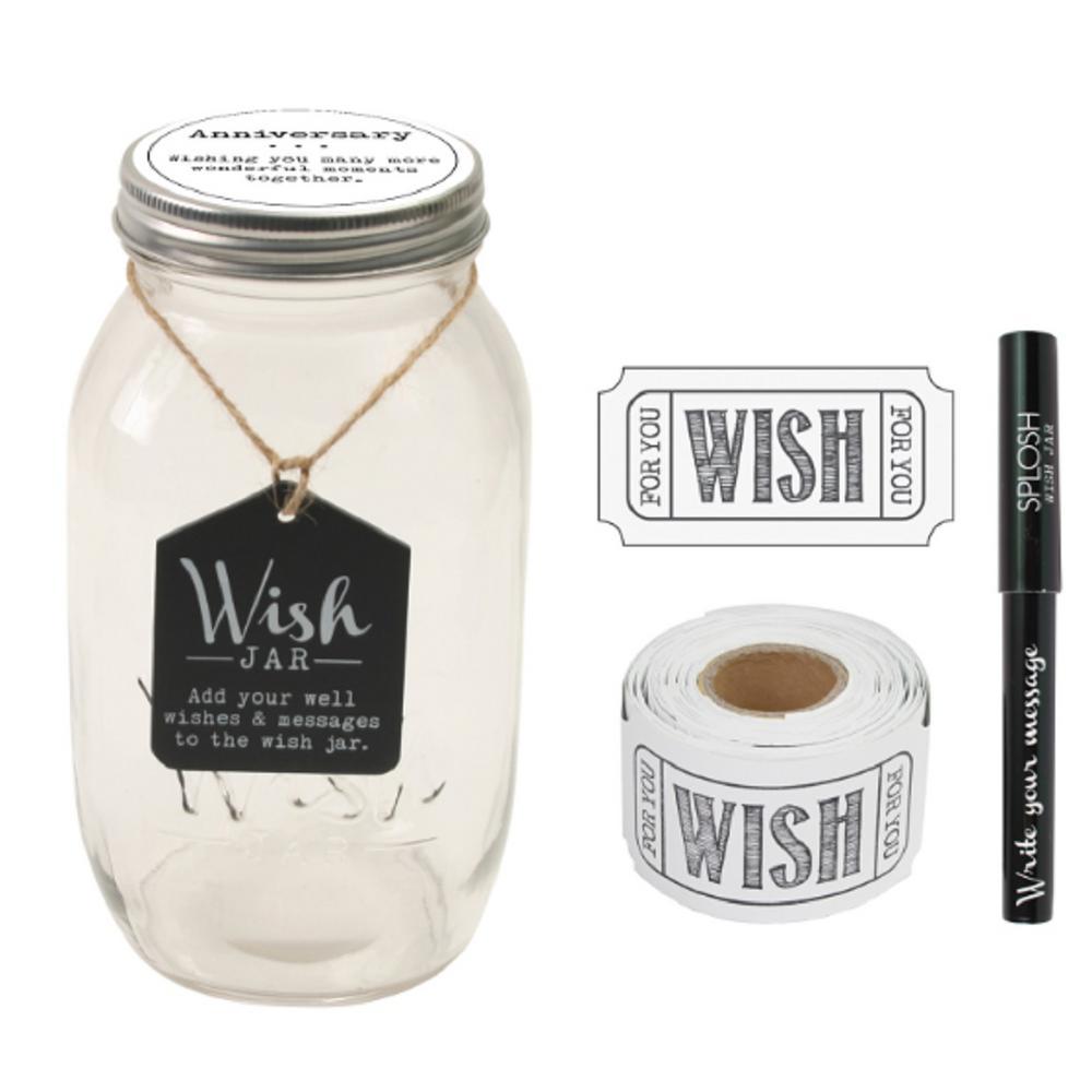 4.5 in. x 8 in. Anniversary Wish Jar