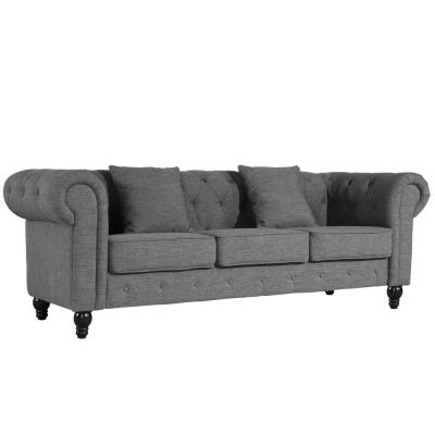 Strange Poly And Bark Gray Mid Century Modern Sofas Pabps2019 Chair Design Images Pabps2019Com