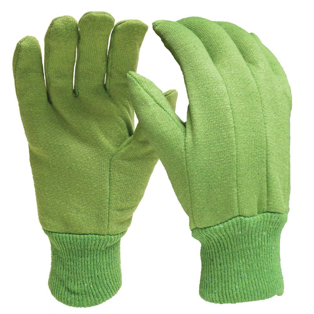 Gardening Cotton Jersey Gloves (3-Pack)