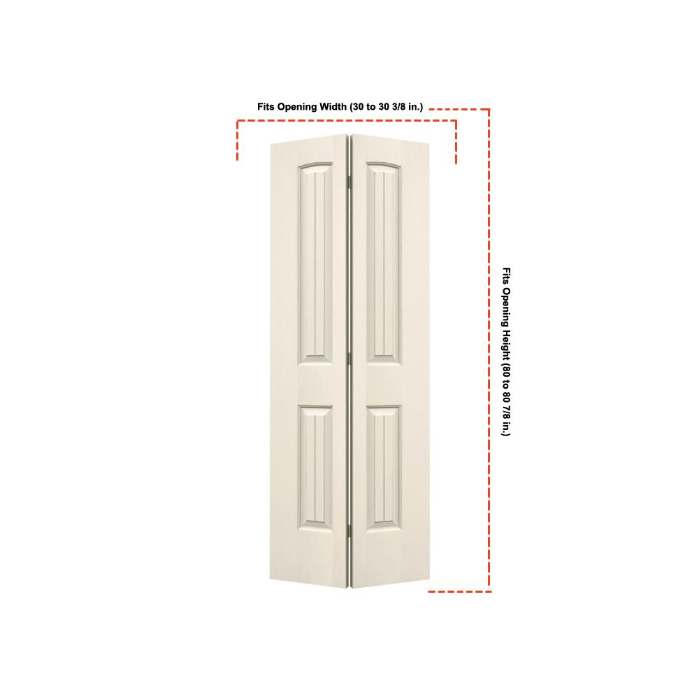 Home fashion technologies 28 in x 80 in 6 panel primed - 6 panel solid wood interior doors ...