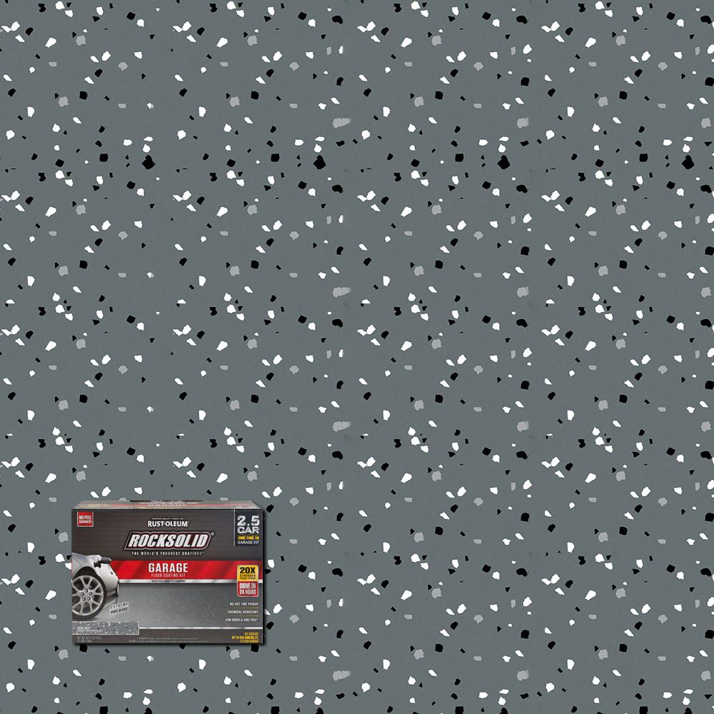 Dark Gray Polycuramine 2 5 Car Garage