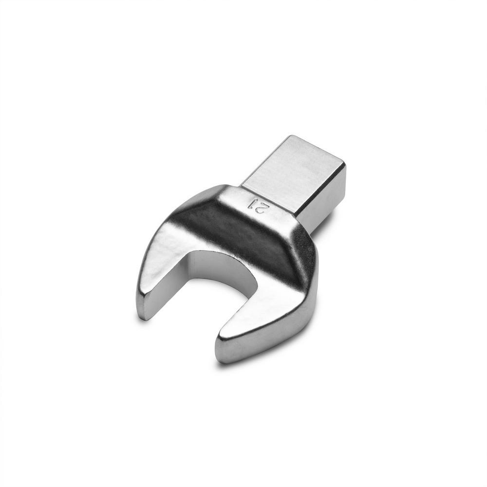 21 mm Open End Interchangeable Torque Wrench Head
