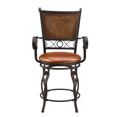 Rodriguez 24 in. Bronzed Counter Stool