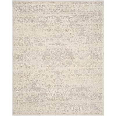 Carnegie Cream/Light Gray 8 ft. x 10 ft. Area Rug