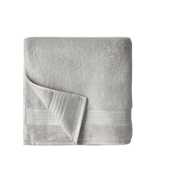 Home Decorators Collection Egyptian Cotton Bath Towel in Shadow Gray