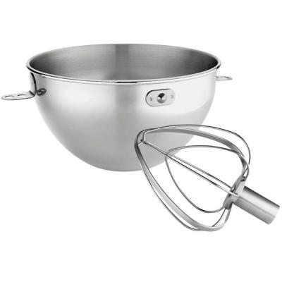 3 Qt. Stainless Steel Bowl and Whip Set for Bowl-Lift Stand Mixer