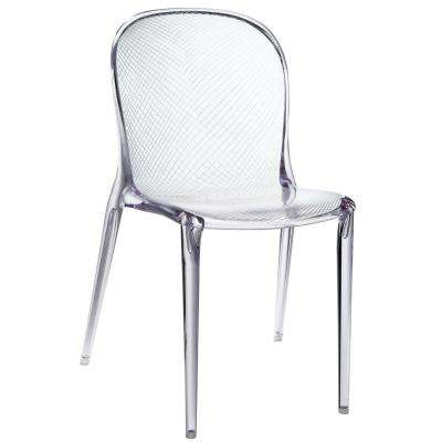 Clear Scape Dining Side Chair