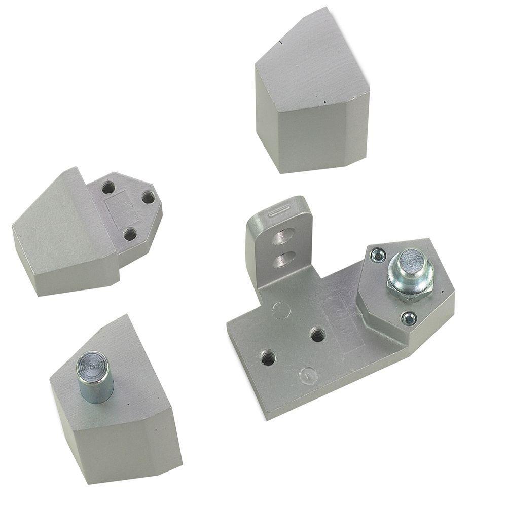 Aluminum Door Pivots : Global door controls aluminum arch vistawall style left