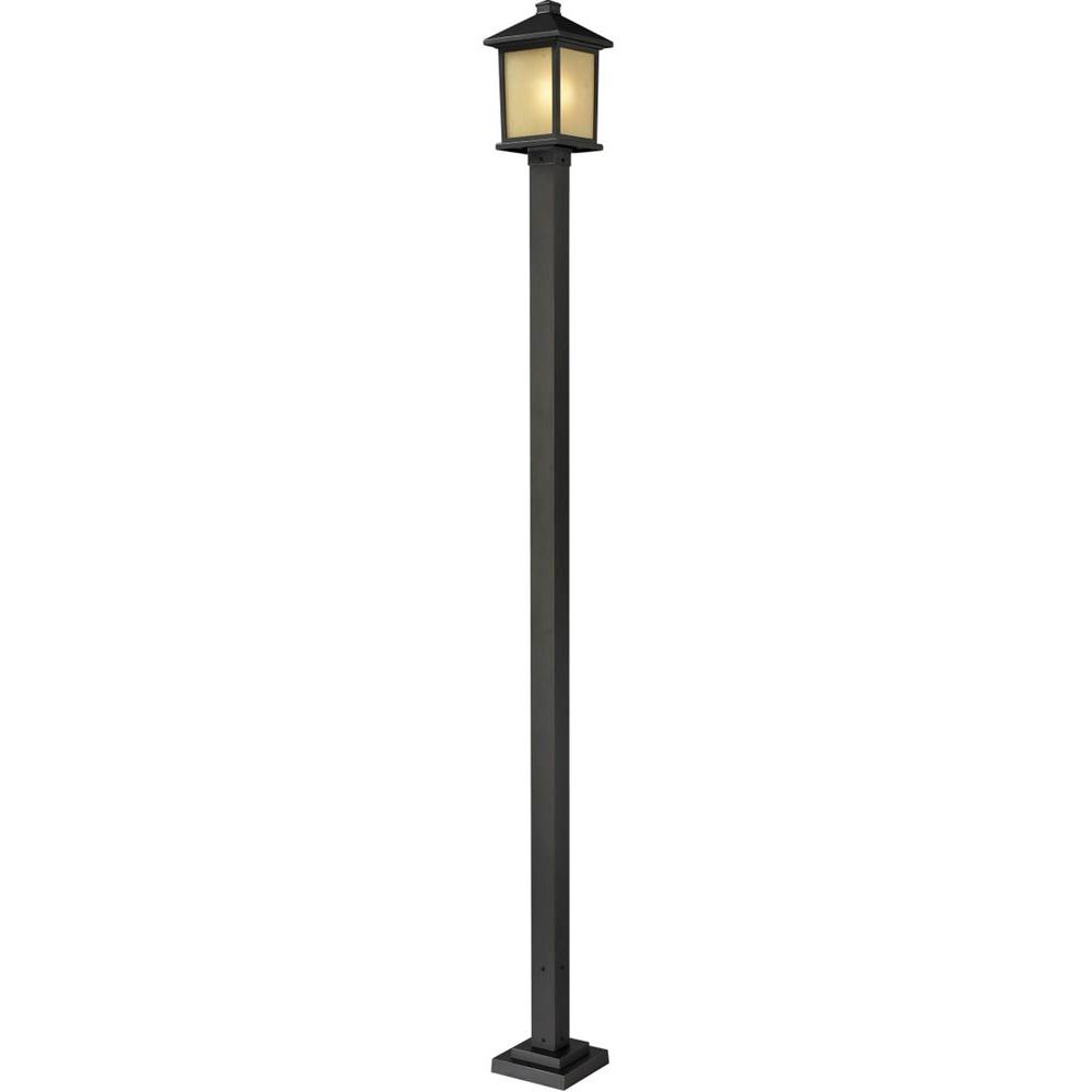 Filament Design Lawrence 1-Light Outdoor Oil-Rubbed Bronze Incandescent Post Light