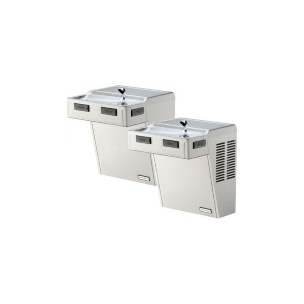 HAC Series Bi-Level HAC8FS-BL-Q ADA Wall Mounted Drinking Fountain in Stainless