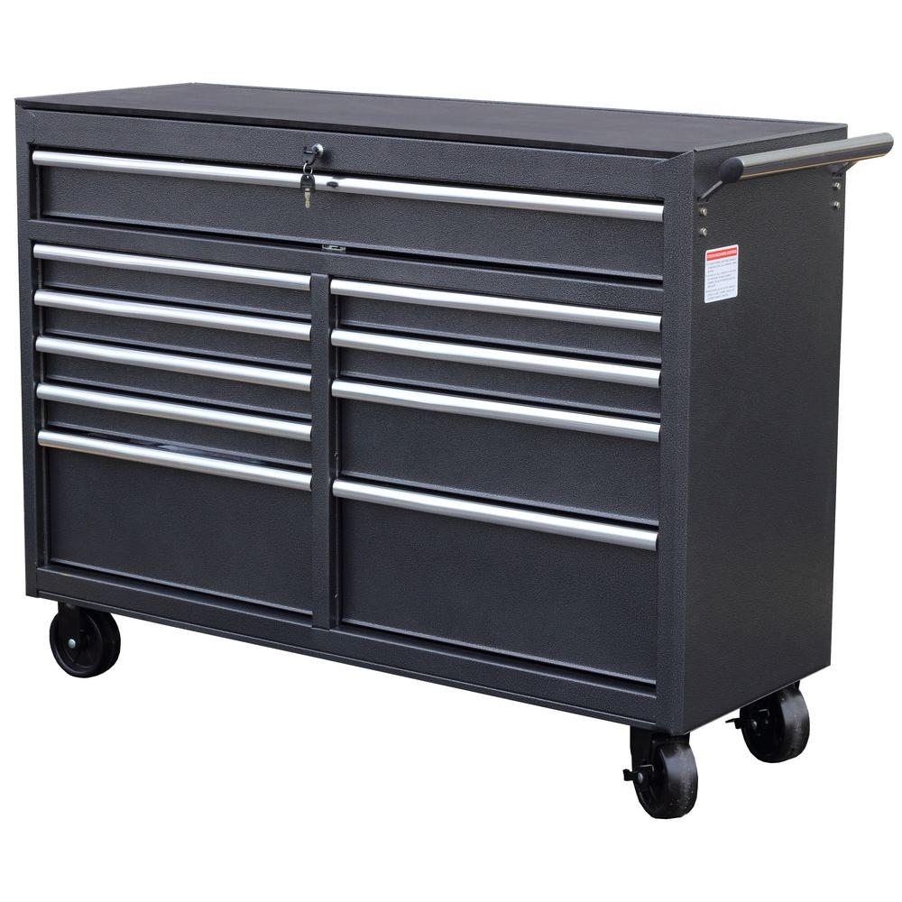 WEN 52 in. 10-Drawer Tool Cabinet