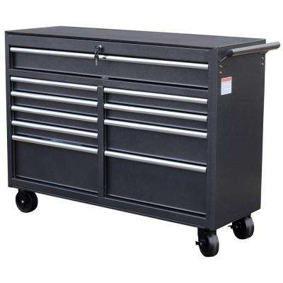 52 in. 10-Drawer Tool Cabinet