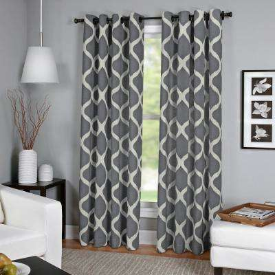 Charcoal Curtains Drapes Window Treatments The Home Depot