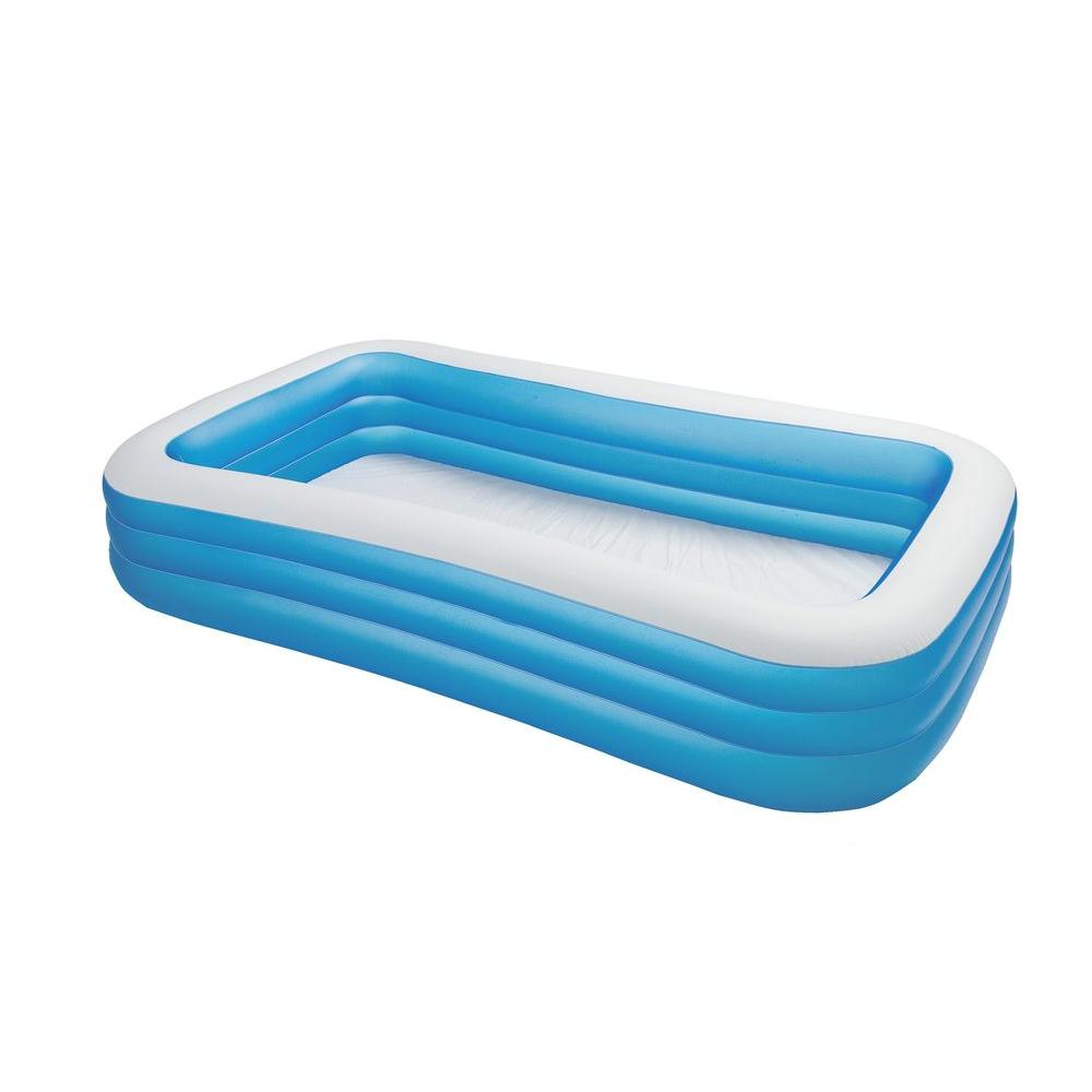 Intex 120 in swim center family pool 58484ep the home depot Intex inflatable swimming pool