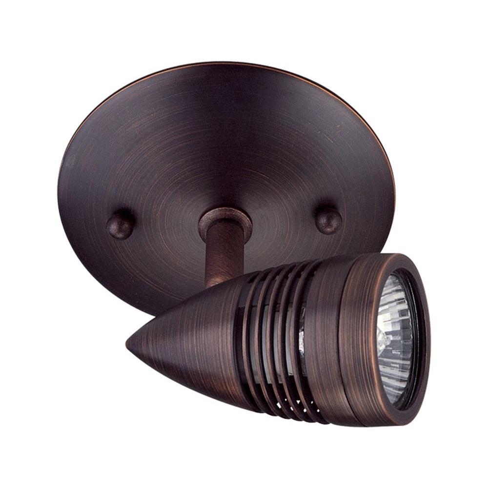 Filament Design Celestial 1-Light Oil-Rubbed Bronze Directional Track Lighting Head