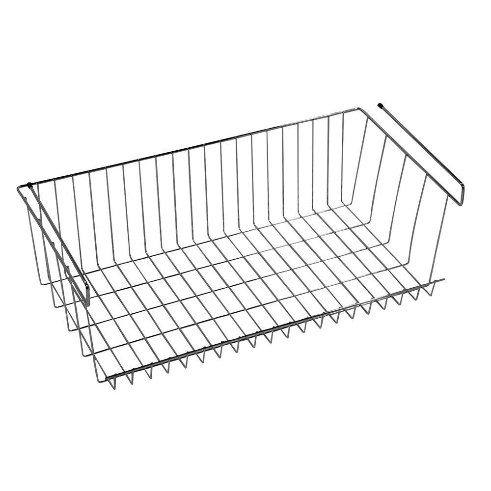 LTL Home Products More Inside Large 4 Sided Wall Mount Wire Basket ...