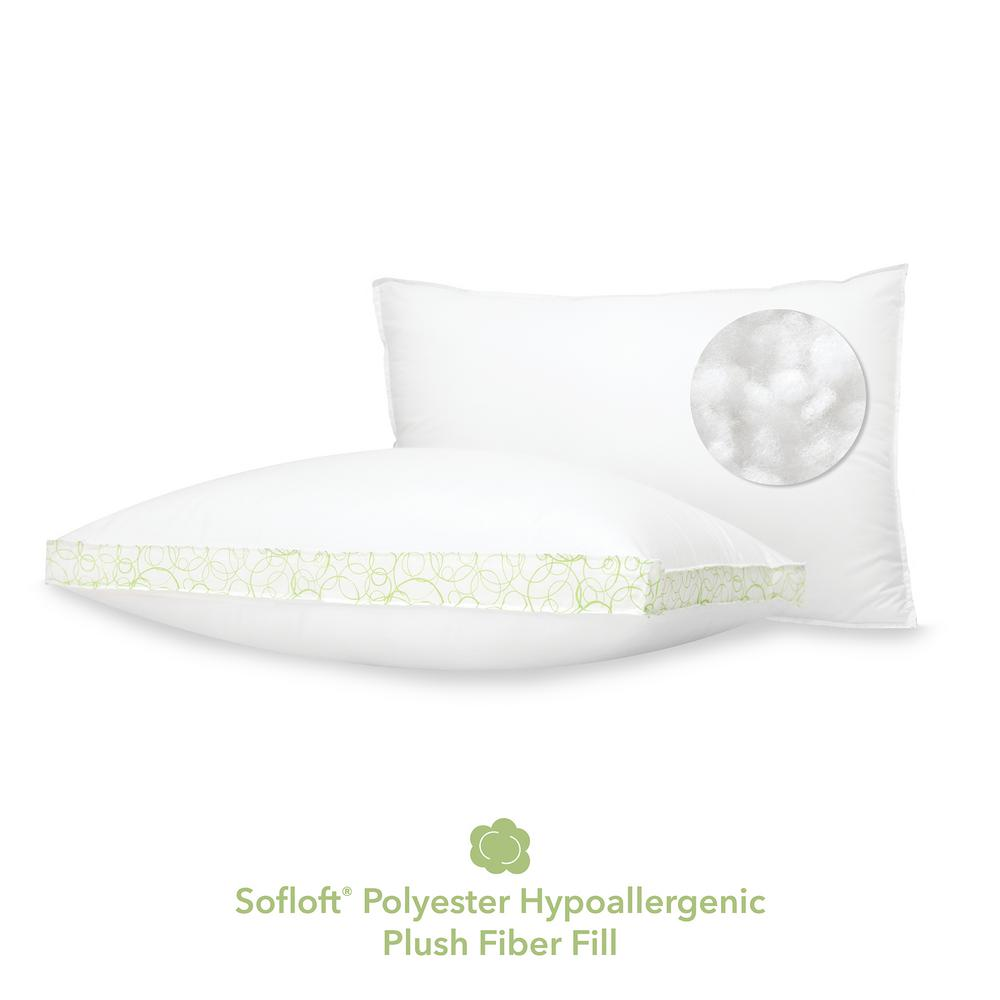 Softloft Hypoallergenic Down Alternative Jumbo Pillow (Set of 2)