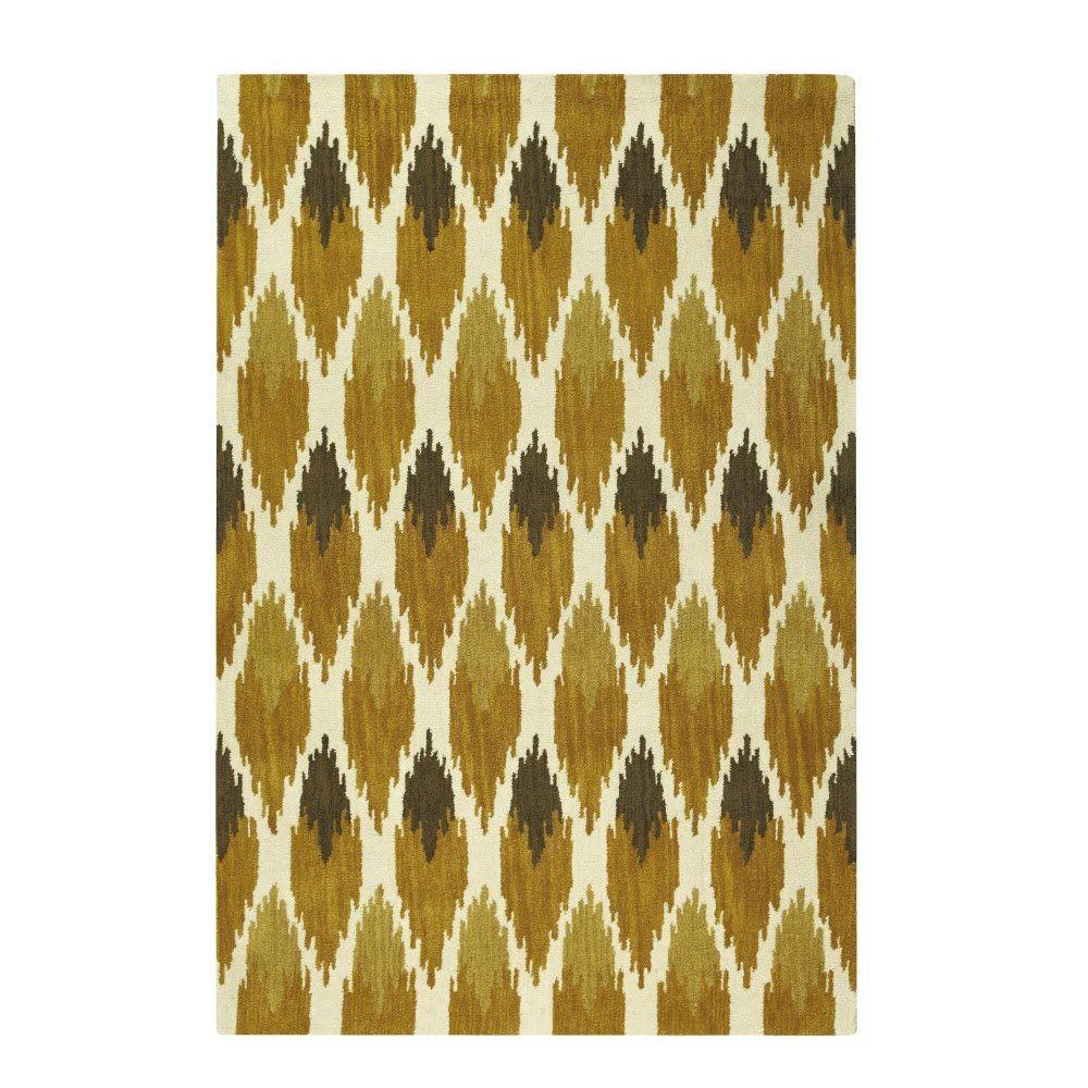 Home Decorators Collection Sullivan Yellow 2 ft. x 3 ft. Area Rug