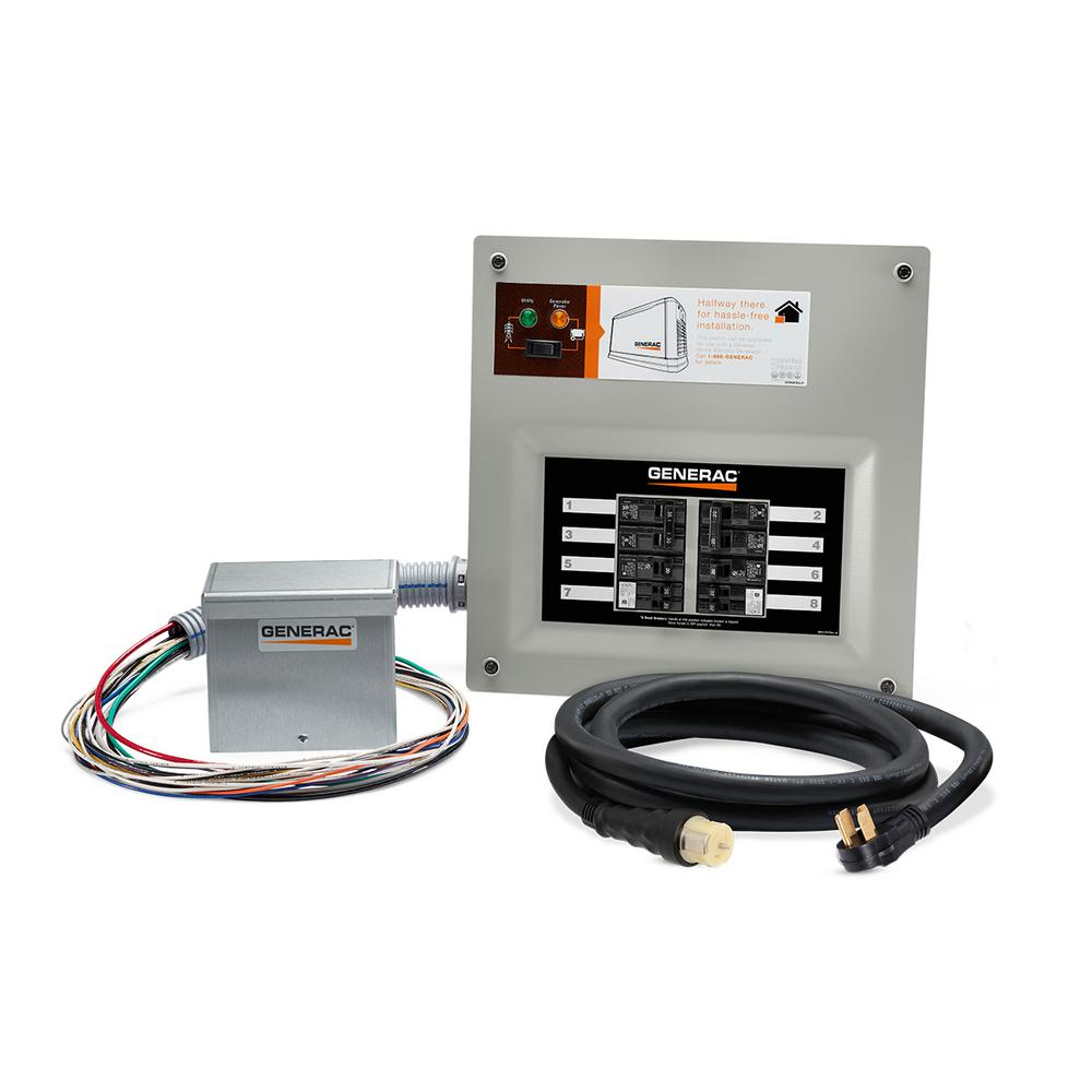 generac homelink 50 amp upgrade able manual transfer switch kit 9855 rh  homedepot com