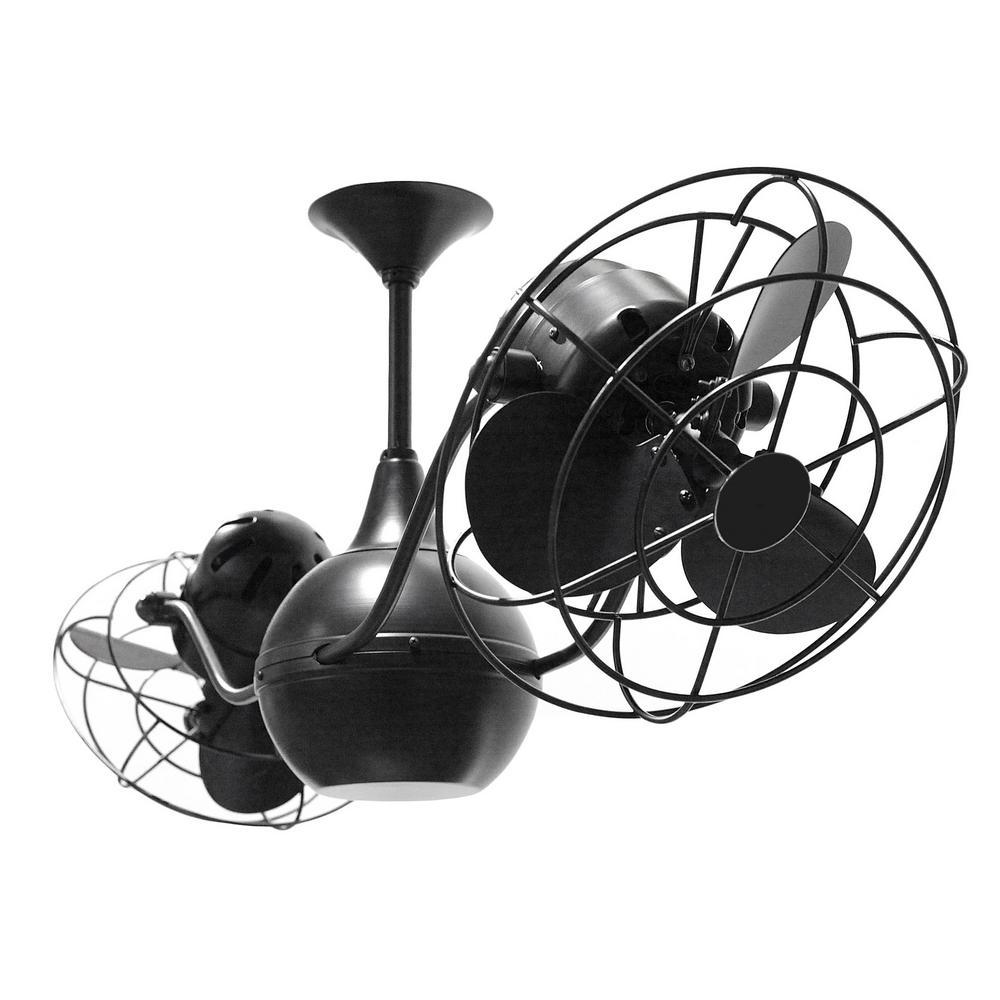 Ralston 42 in. 6-Blade matte black Ceiling Fan