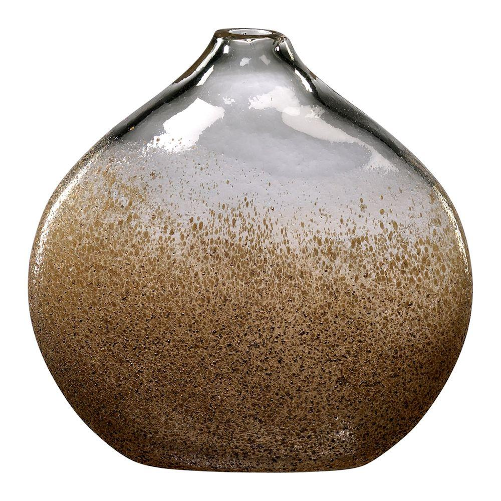 Filament Design Prospect 8 in. x 8 in. Russet And Gold Dust Vase