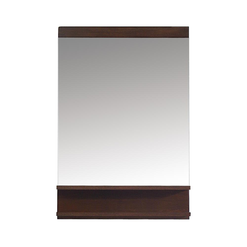 Cityloft 24 in. W x 31 in. H Framed Mirror in