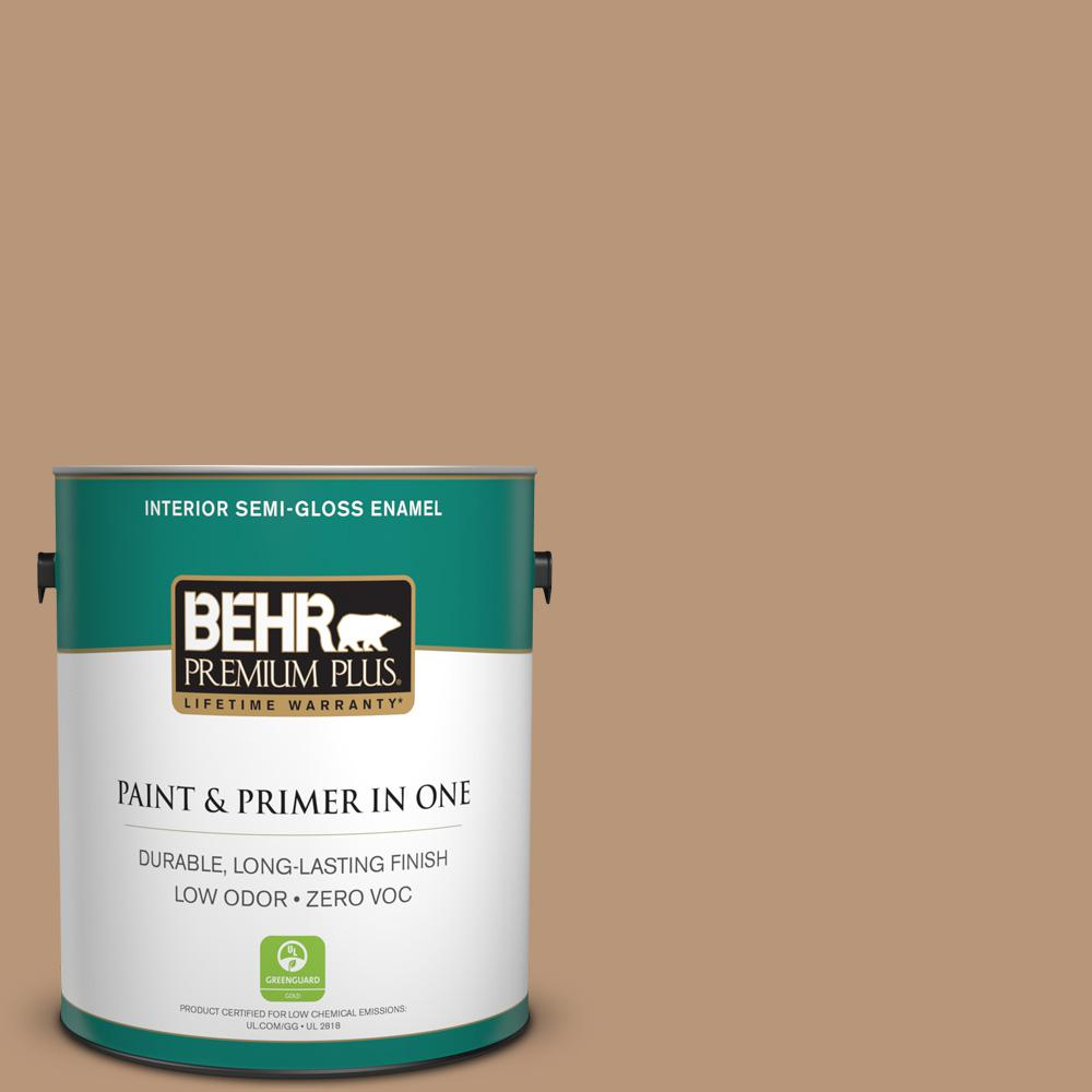 1-gal. #N250-4 Artisan Crafts Semi-Gloss Enamel Interior Paint