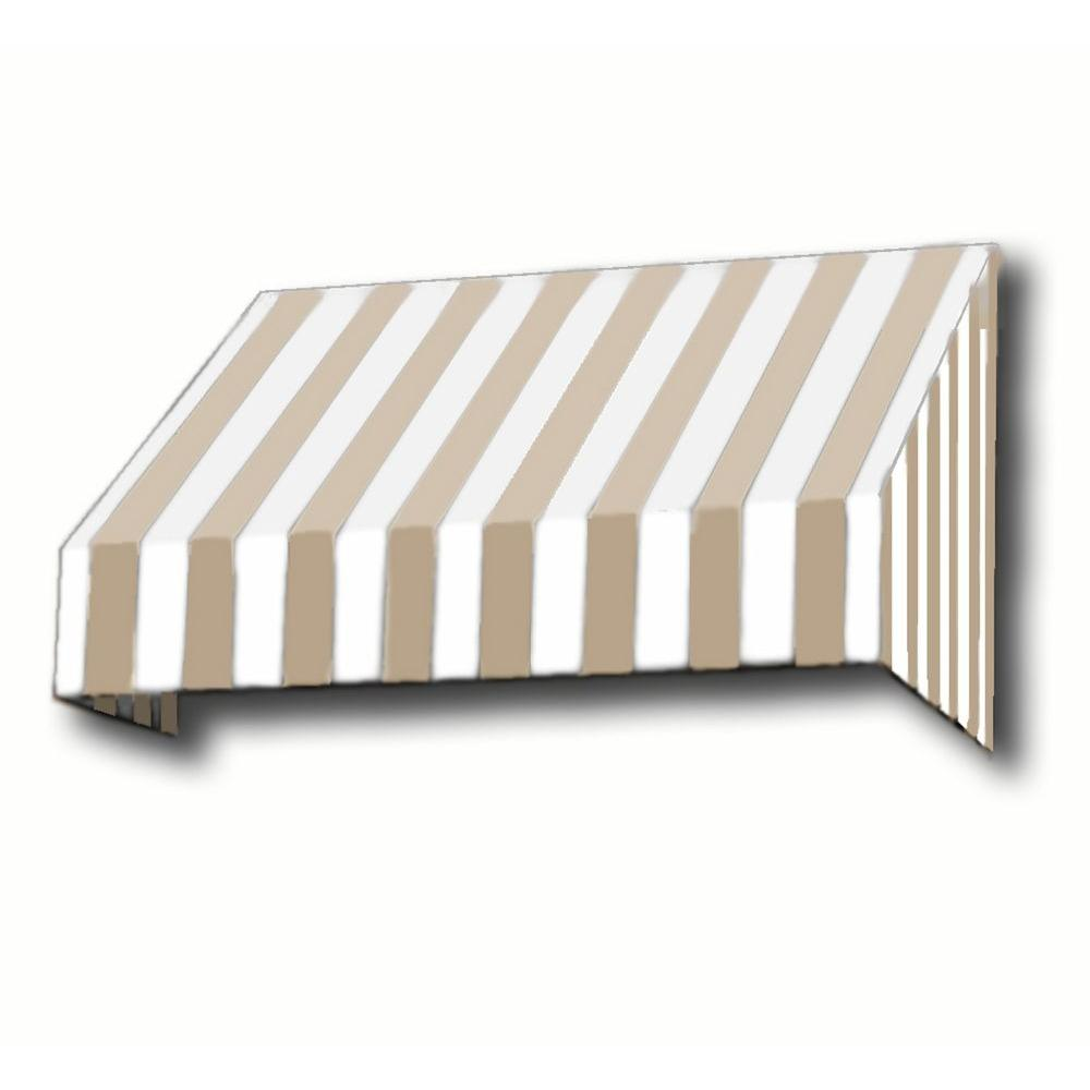 8.38 ft. Wide New Yorker Window/Entry Awning (44 in. H x