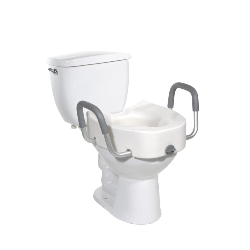 Drive Raised Toilet Seat 12013 The Home Depot