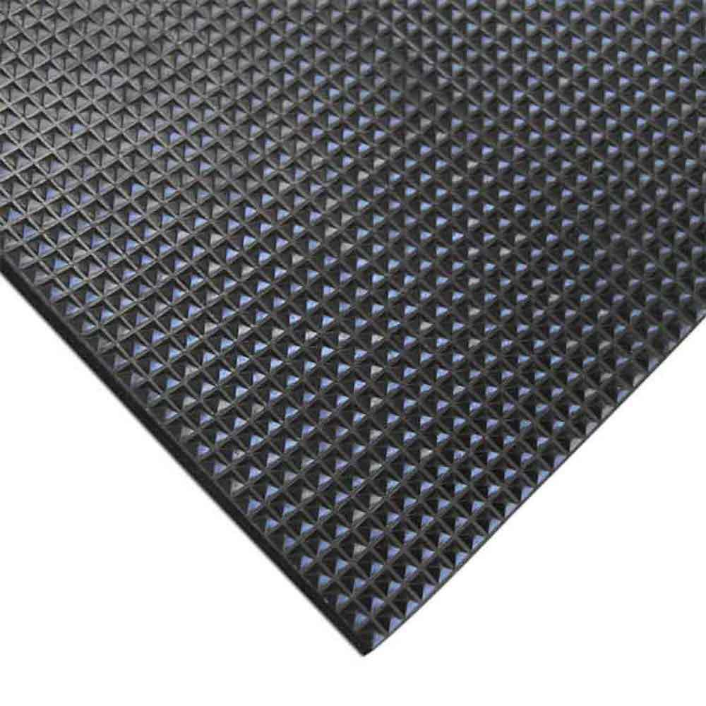 Rubber Cal Super Grip Scraper 48 In X 120 In Rubber Mat