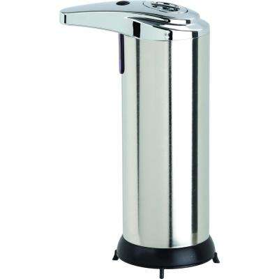 8 oz. Touch-Free Soap/Lotion Dispenser in Stainless-Steel
