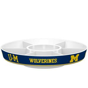 Click here to buy  Michigan Wolverines Navy Melamine Party Platter.