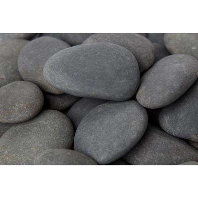 3 in. to 5 in., 3000 lb. Mexican Beach Pebbles (Bulk Pallet)