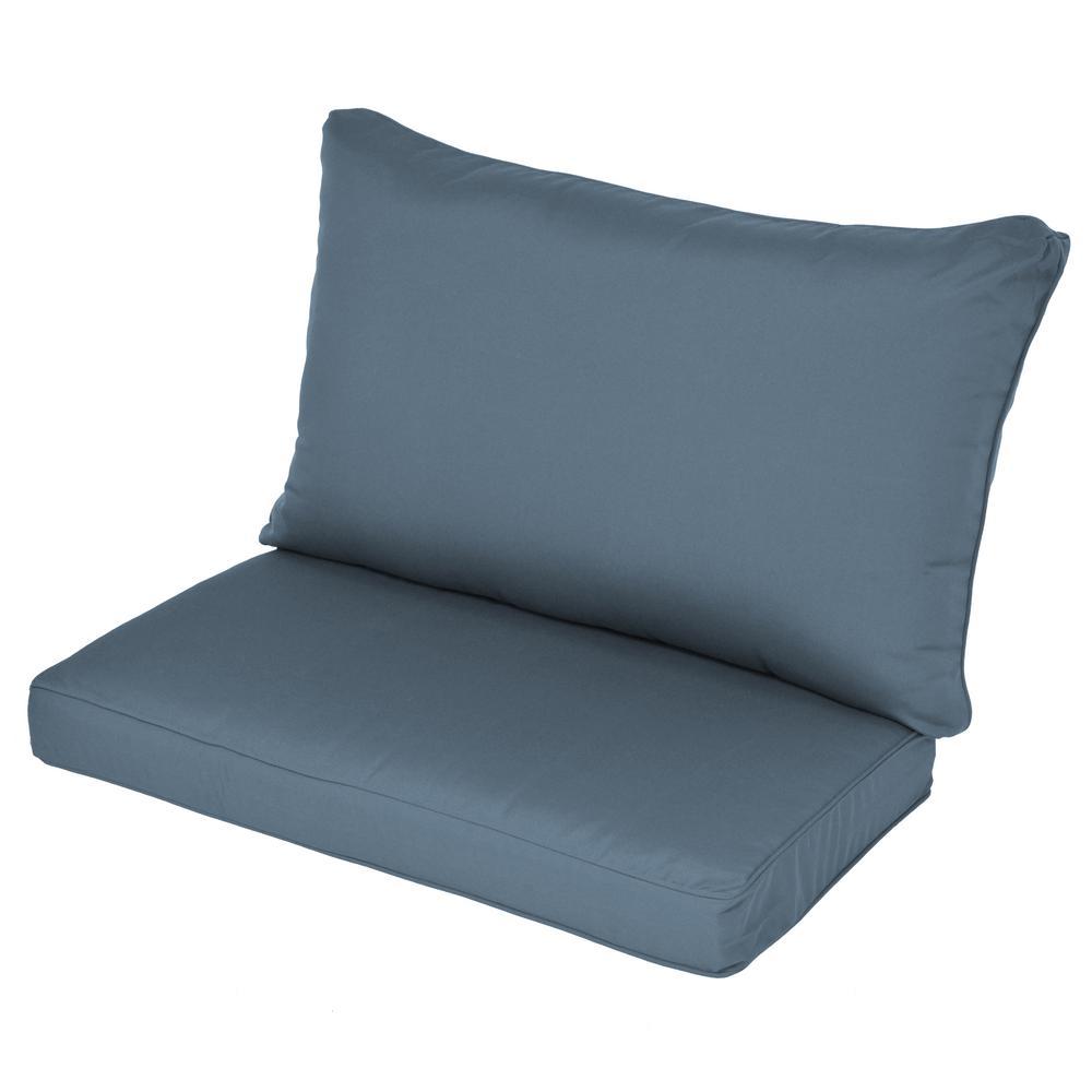 Canvas Sapphire Sunbrella Outdoor Chair Cushions Outdoor