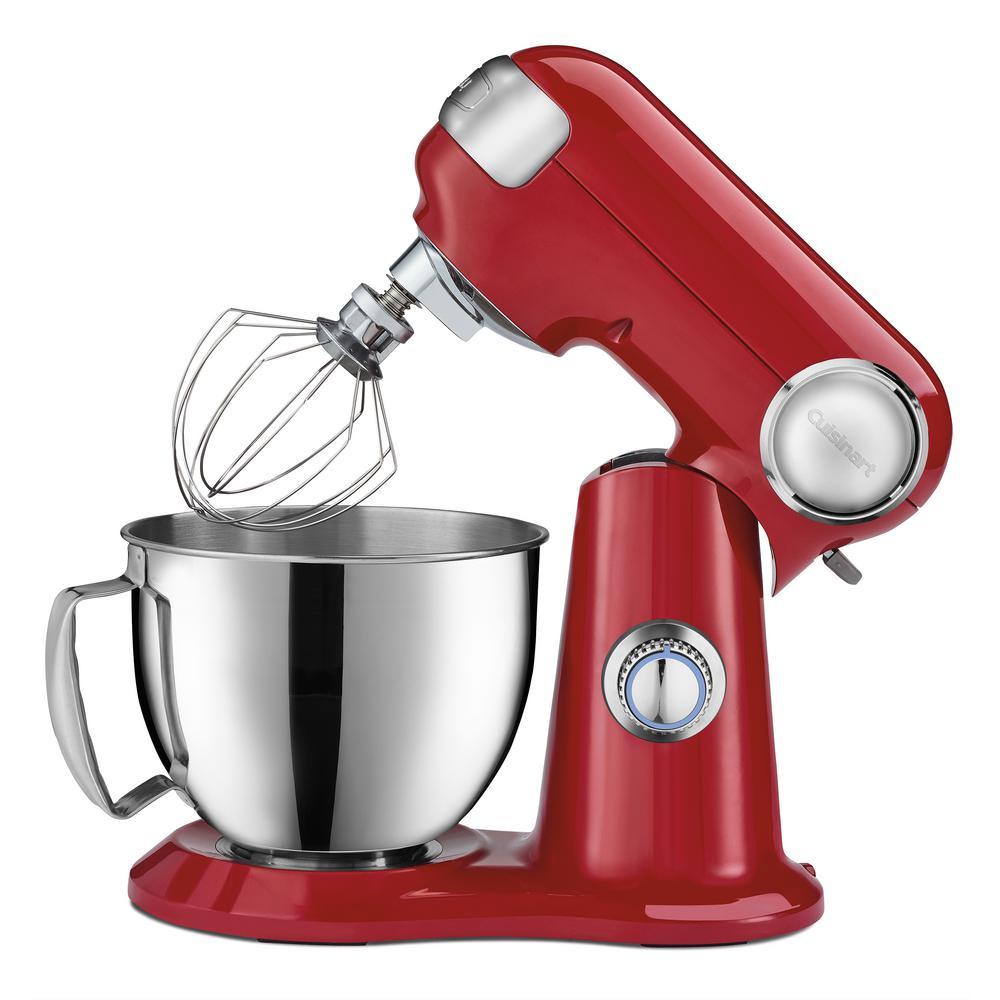 Cuisinart 3.5 Qt. Red Precision Master Petite Stand Mixer SM-35R