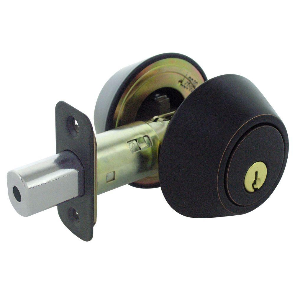 Faultless Single Sided Stainless Steel Deadbolt With