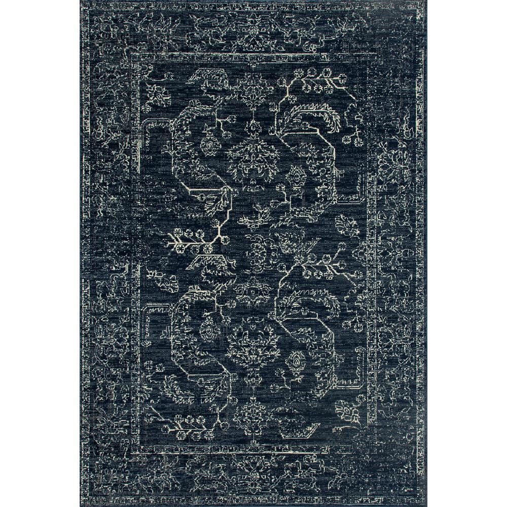 Art Carpet London Suzanna Steel Blue 3 Ft X 5 Area Rug