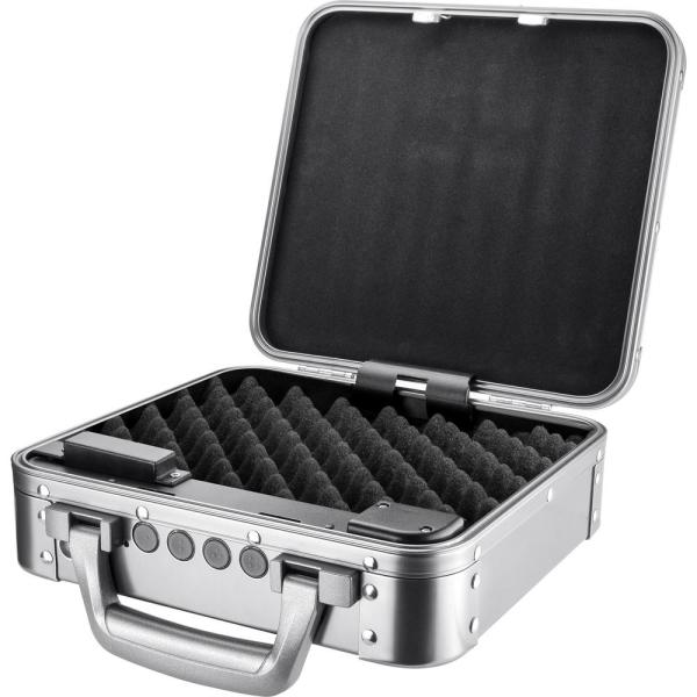 Portable Keypad Lockbox, Silver