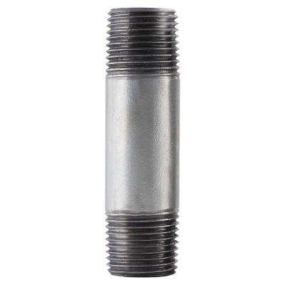 3/8 in. x 4 in. Galvanized Steel Pipe Nipple