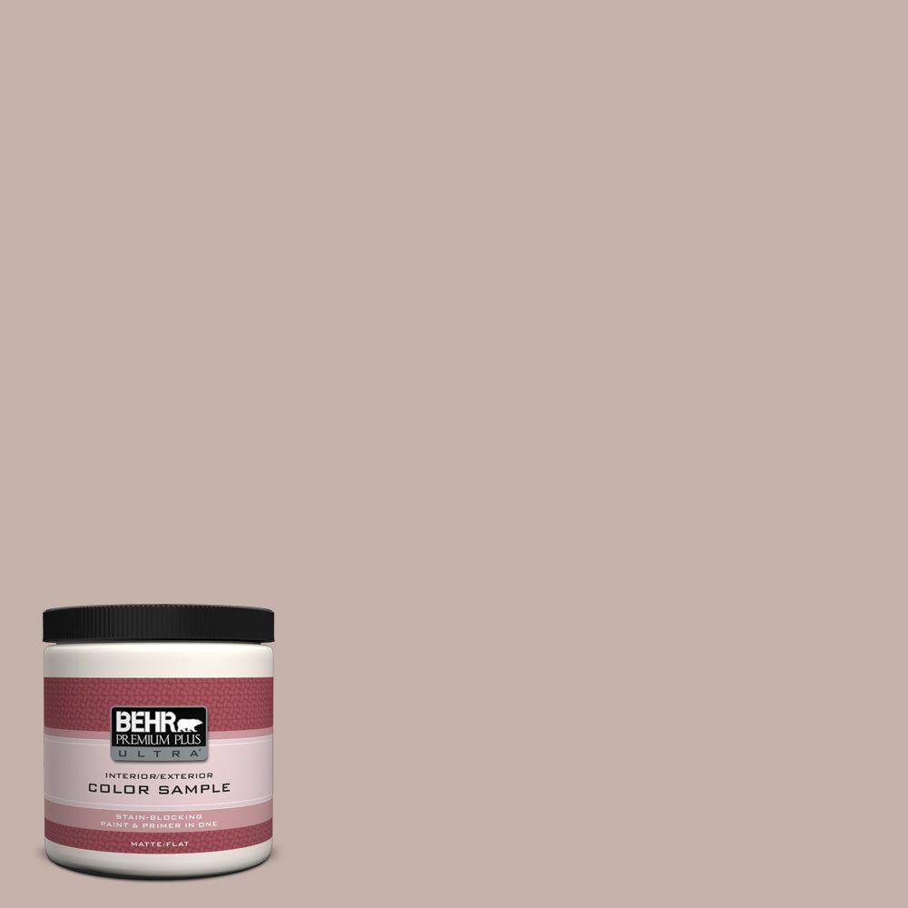 8 oz. #PPU17-10 Mauvette Matte Interior/Exterior Paint and Primer in One