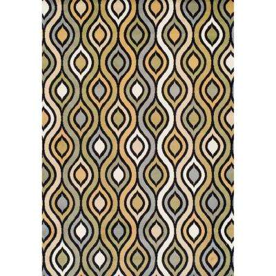 Ferrera Collection Tribeca Multi 5 ft. x 8 ft. Area Rug