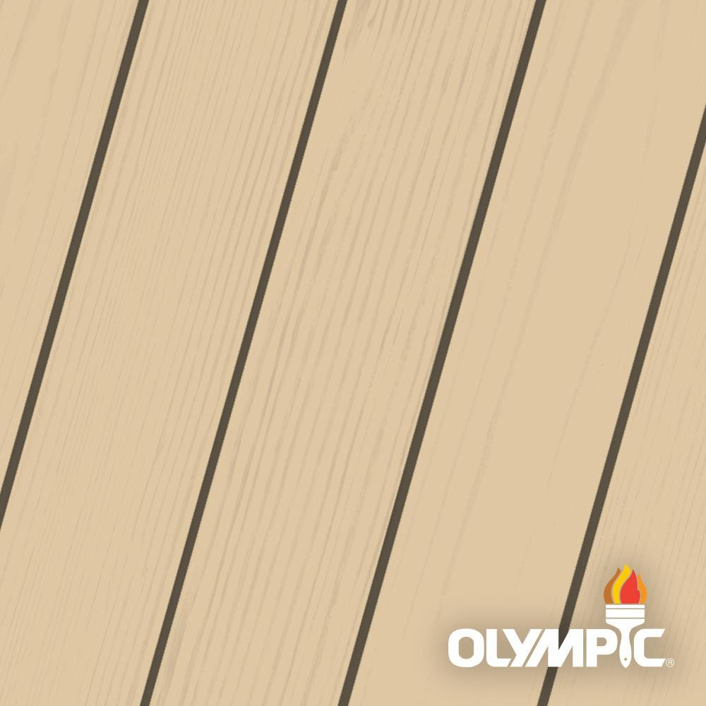 Olympic Maximum 5 Gal Rawhide Solid Color Exterior Stain And Sealant In One Oly313 05 The