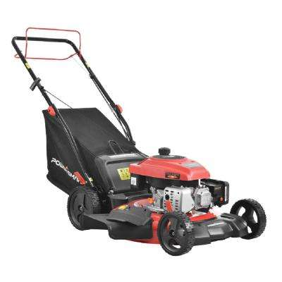 21 in. 161 cc Gas 3-in-1 Self Propelled Walk Behind Lawn Mower