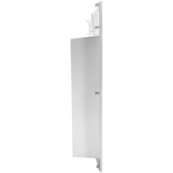 white Saf-T-Duct Dryer Outlet Box