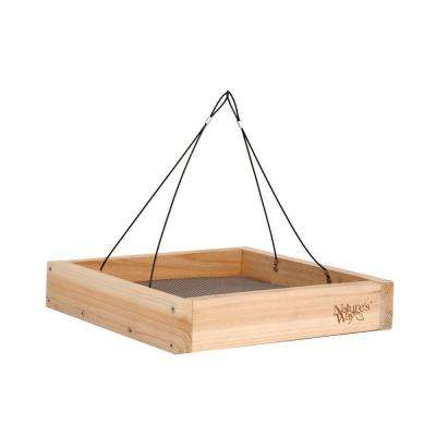 Cedar Tray Bird Feeder